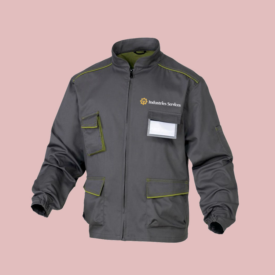 Personnalisation de vêtements de travail professionnels
